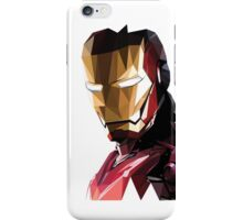 Iron Man Triangulation Vector iPhone Case/Skin