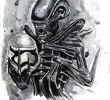 The Xenomorph Awakens by BeaADay