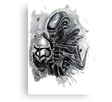 The Xenomorph Awakens Canvas Print
