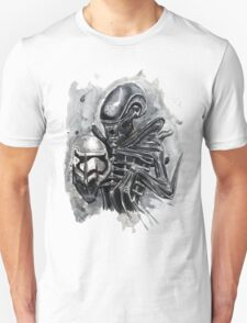 The Xenomorph Awakens T-Shirt