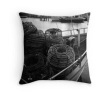 Bon Voyage: Constitution Dock, Hobart, Tasmania Throw Pillow