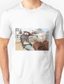 Cowboy Down No 1 Unisex T-Shirt