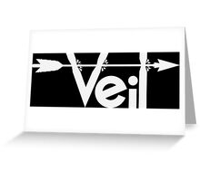 An Arrow to the Veil Greeting Card