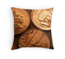 Coin  Throw Pillow