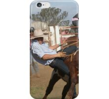 Cowboy Down No 2 iPhone Case/Skin