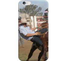 Cowboy Down No 2 iPhone Case/Skin