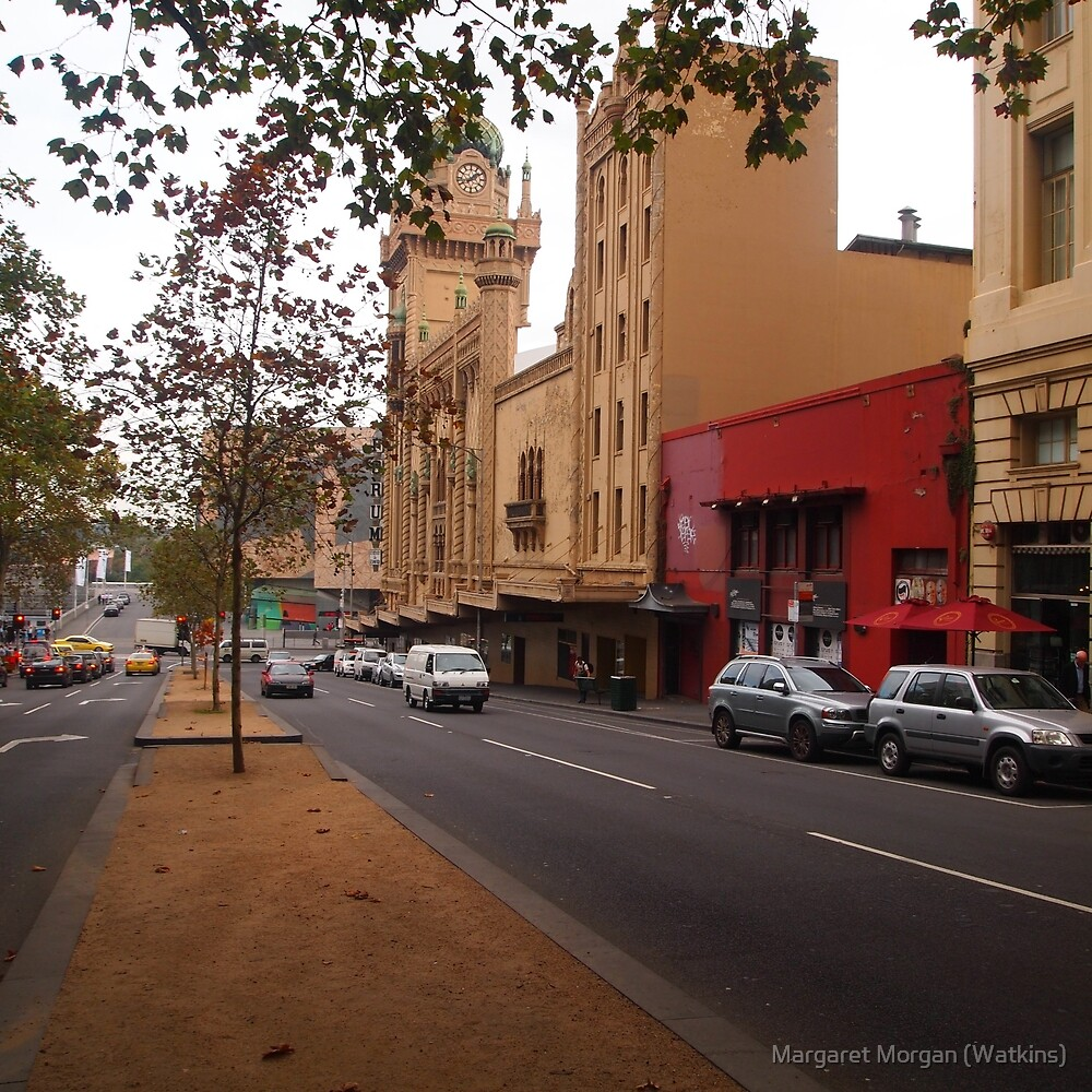 A funny thing happened on the way to the Forum!! Melb. VIC Australia by Margaret Morgan (Watkins)