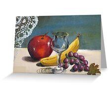 Still Life- Fruit Greeting Card