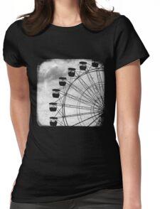 Ferris Wheel - TTV Womens Fitted T-Shirt
