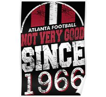 Atlanta Football Poster
