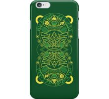 Card Back - Hylian Court Legend of Zelda iPhone Case/Skin