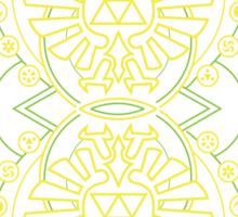 Card Back - Hylian Court Legend of Zelda Sticker