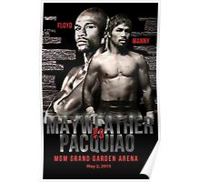 Mayweather vs Pacquiao Shirt  Poster