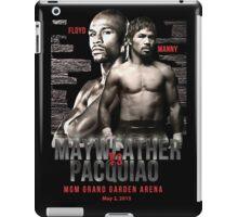Mayweather vs Pacquiao Shirt  iPad Case/Skin