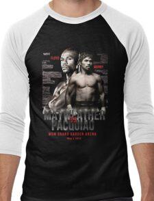 Mayweather vs Pacquiao Shirt  Men's Baseball ¾ T-Shirt