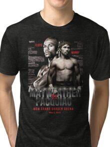 Mayweather vs Pacquiao Shirt  Tri-blend T-Shirt