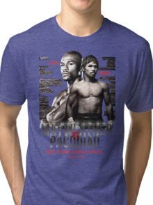 Mayweather vs Pacquiao Shirt  Tri-blend T-Shirt