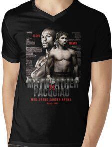 Mayweather vs Pacquiao Shirt  Mens V-Neck T-Shirt