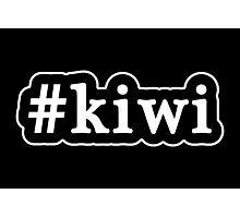 Kiwi - Hashtag - Black & White Photographic Print