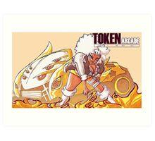 Token Arcade- Bradley Art Print