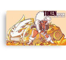 Token Arcade- Bradley Canvas Print