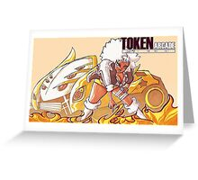 Token Arcade- Bradley Greeting Card