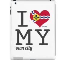 St. Louis |  Missouri | Saint Louis #ilovemywoncity iPad Case/Skin