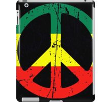 Rasta Peace - Distressed iPad Case/Skin