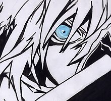 Cloud Strife- Mako Eyes by shinichick39