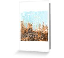 Arizona Desert Abstract Greeting Card