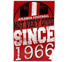 Atlanta Football Alt Poster