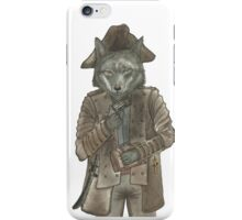Pirate Wolf iPhone Case/Skin