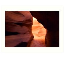 Upper Antelope Canyon Entrance/Exit? Art Print