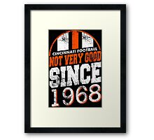 Cincinnati Football Framed Print