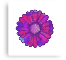 Colorful Daisy Canvas Print