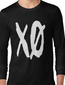 XO Slash [White] Long Sleeve T-Shirt
