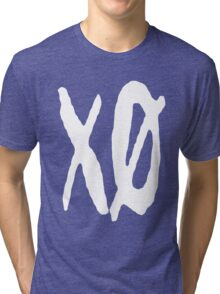 XO Slash [White] Tri-blend T-Shirt