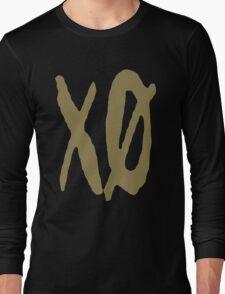 XO Slash [Gold] Long Sleeve T-Shirt