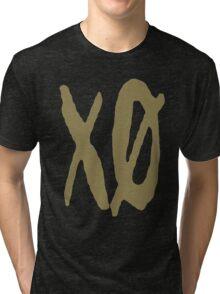 XO Slash [Gold] Tri-blend T-Shirt