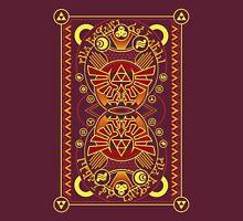 Card Back 3 - Hylian Court Legend of Zelda T-Shirt