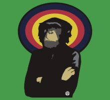 Chimp Boss by 45thAveArtCo