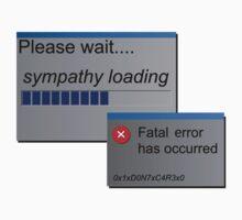 Please wait, sympathy loading computer error by SirJyo