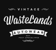 Retro Vintage Wastelands Autowear Hoodie by 1stone