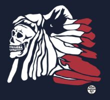 Forgotten Chief (Red feathers) T-Shirt