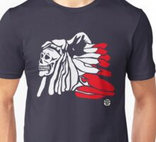 Forgotten Chief (Red feathers) Unisex T-Shirt