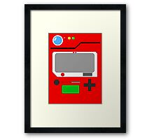 Classic Pokedex Framed Print