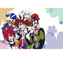 Kingdom Hearts- Group Photographic Print