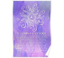Illuminated Soul Poster