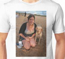 11. Jen with Kelpie-Lab Unisex T-Shirt
