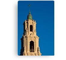 Tower of the San Francisco de Asis Church Canvas Print